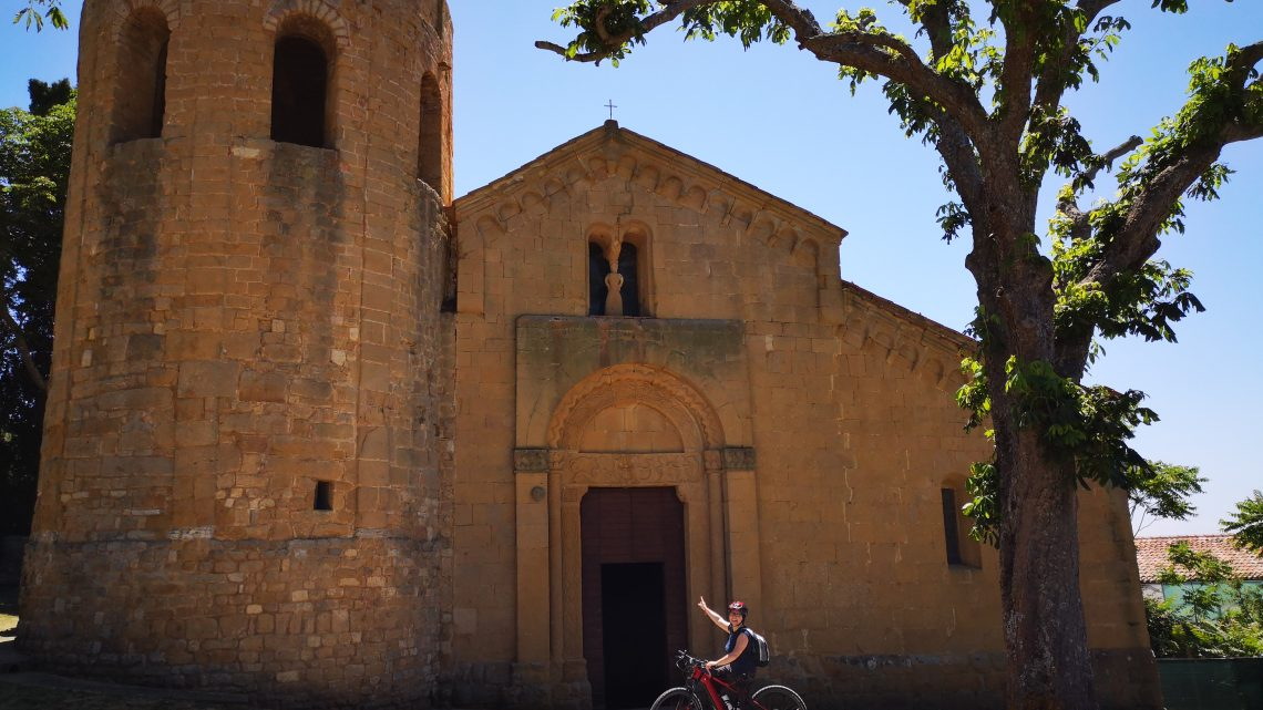 Orcia Valley by bike from 2 nights!